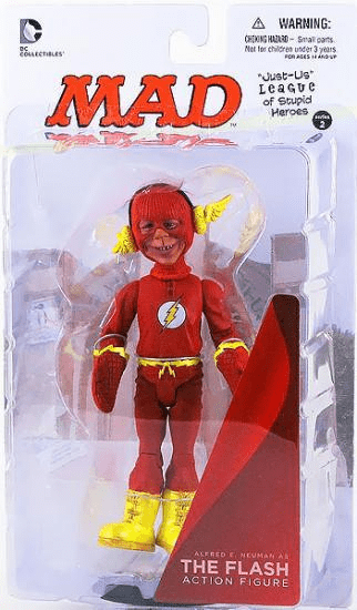 DC Collectibles MAD Just Us League Alfred E. Neuman as The Flash Figure