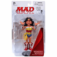 DC Collectibles MAD Just Us League Alfred E. Neuman as Wonder Woman Figure