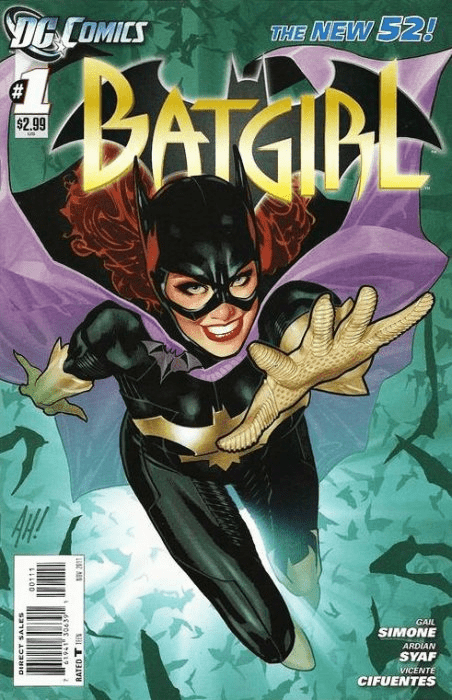 DC Comics 2011 Batgirl #1 Comic Book