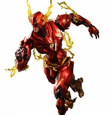 DC Comics Play Arts Kai Flash Variant Figure