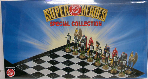 DC Comics Super Heroes Special Collection Chess Set