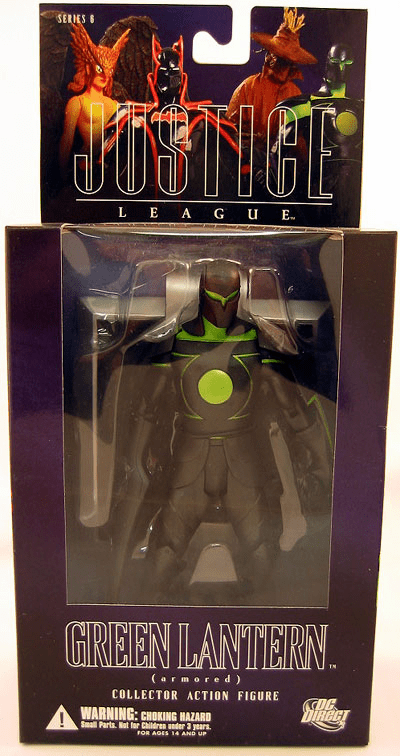 DC Direct Alex Ross Justice League Armored Green Lantern Figure