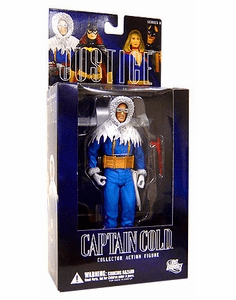 DC Direct Alex Ross Justice League Captain Cold Action Figure