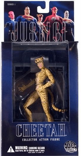 DC Direct Alex Ross Justice League Cheetah Action Figure