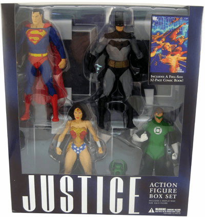 DC Direct Alex Ross Justice League Figure Box Set