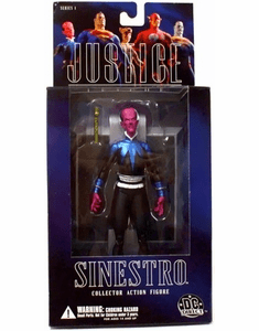 DC Direct Alex Ross Justice League Sinestro Action Figure