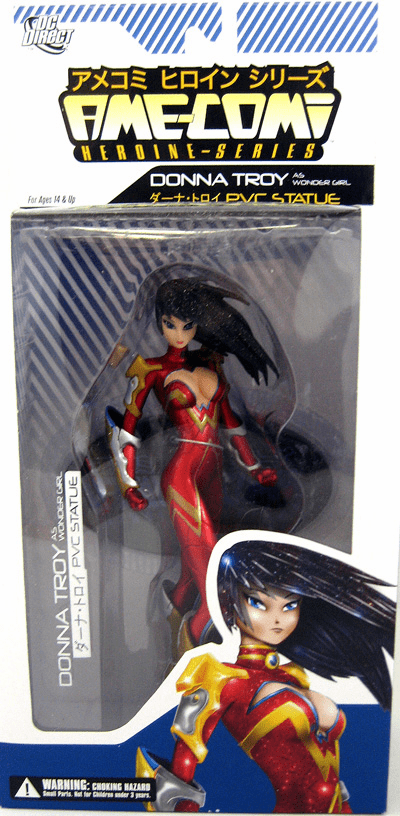 DC Direct Ame-Comi Donna Troy as Wonder Girl Figure