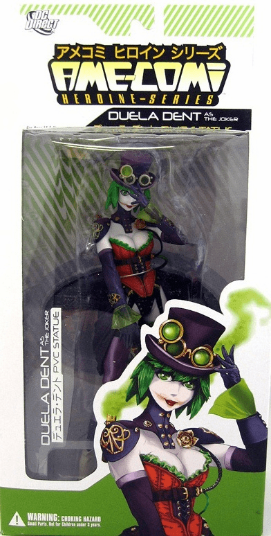 DC Direct Ame-Comi Duela Dent as The Joker Figure