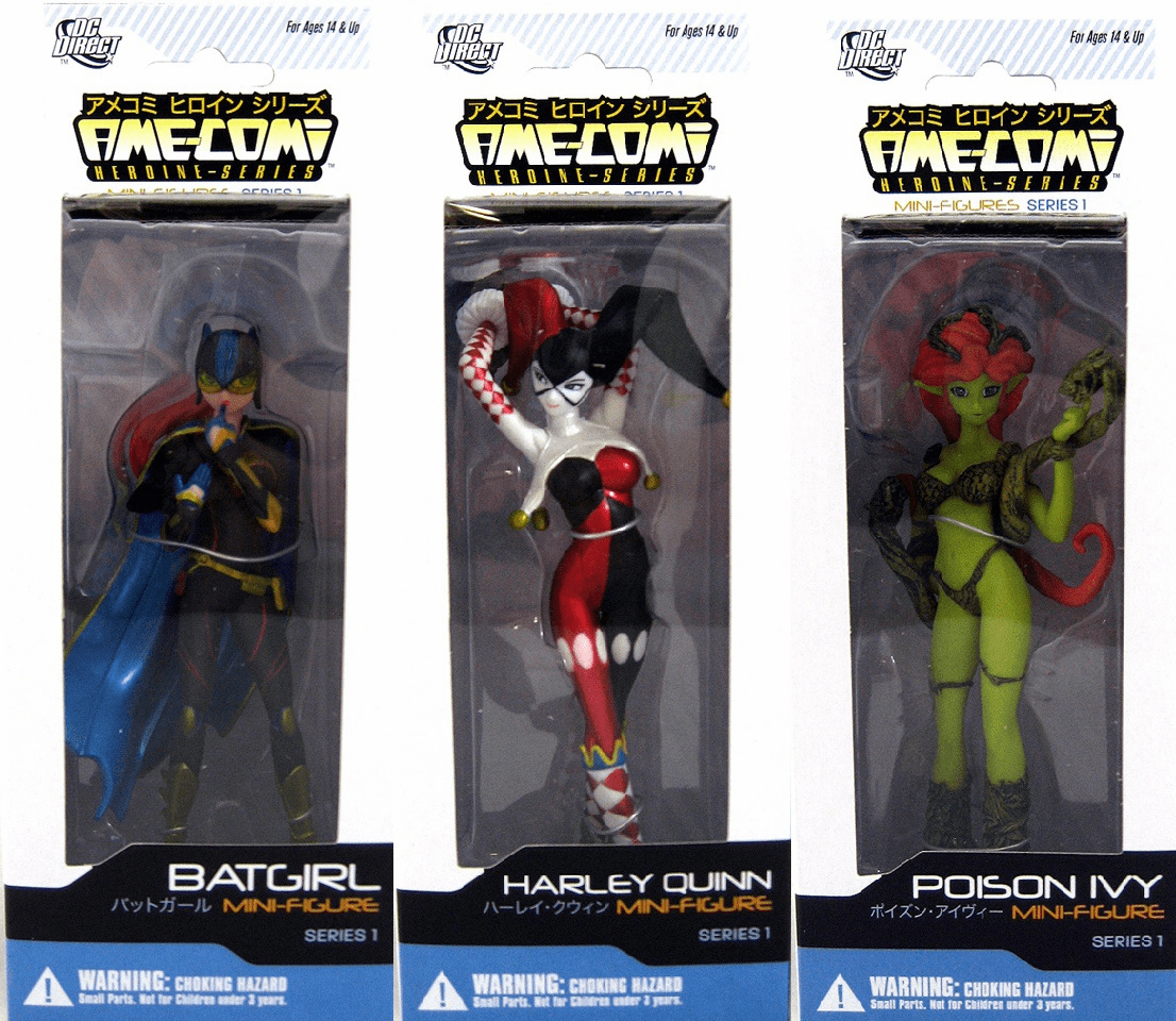 DC Direct Ame-Comi Mini Heroine Figurine Set
