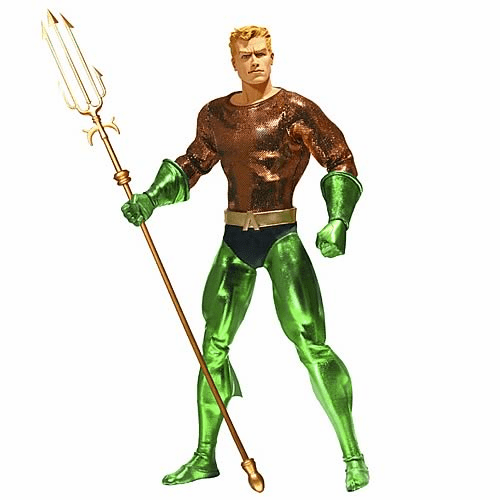 """DC Direct Aquaman 1:6 Scale 13"""" Deluxe Collector Figure"""