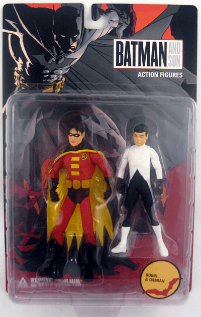 DC Direct Batman and Son Robin and Damian Action Figure 2 Pack
