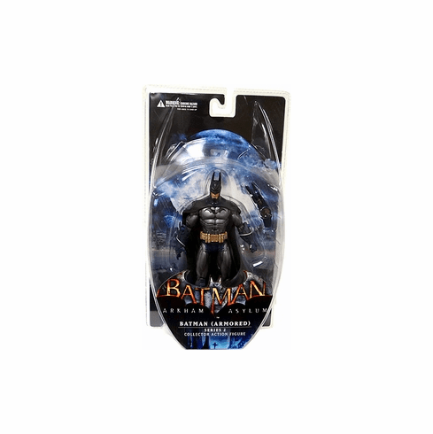 DC Direct Batman Arkham Asylum Armored Batman Action Figure