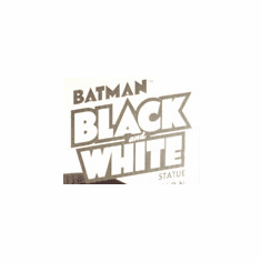 DC Direct Batman Black and White Statues