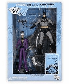 DC Direct Batman The Long Halloween Collector Set 2 Pack with Book
