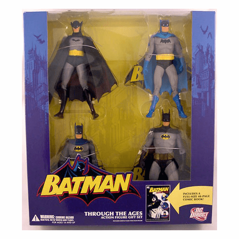 DC Direct Batman Through the Ages Figure Box Set