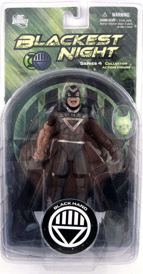 DC Direct Blackest Night Black Hand Action Figure