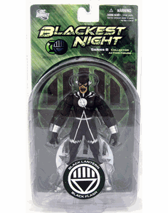 DC Direct Blackest Night Black Lantern Black Flash Action Figure