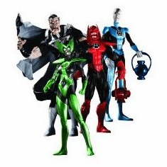 DC Direct Blackest Night Series 1 Action Figure Set