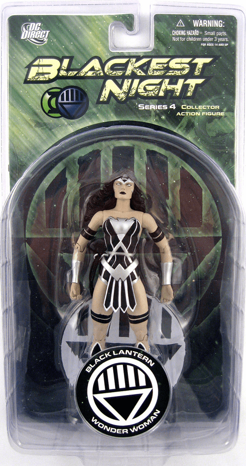 DC Direct Blackest Night Wonder Woman Action Figure