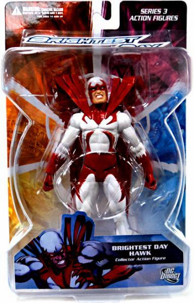 DC Direct Brightest Day Hawk Action Figure