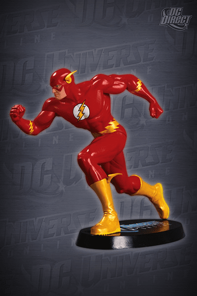 DC Direct DC Universe Online The Flash Statue