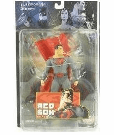 DC Direct Elseworlds Series 1 Red Son Superman Action Figure