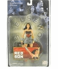 DC Direct Elseworlds Series 1 Red Son Wonder Woman Action Figure