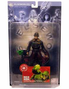 DC Direct Elseworlds Series 3 Red Son Green Lantern Action Figure