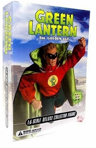 DC Direct Golden Age Green Lantern Alan Scott 1:6 Scale Deluxe Collector Figure