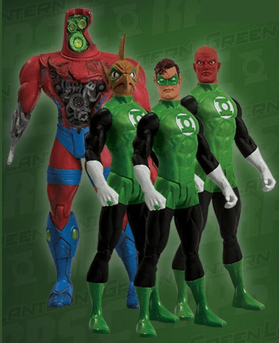DC Direct Green Lantern Action Figure Box Set