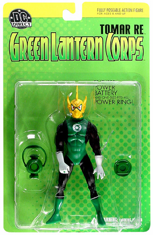 DC Direct Green Lantern Corps Tomar Re Action Figure