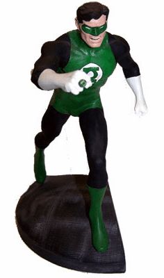 DC Direct Green Lantern Hal Jordan Mini Statue