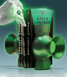 DC Direct Green Lantern Power Battery Bookends Set