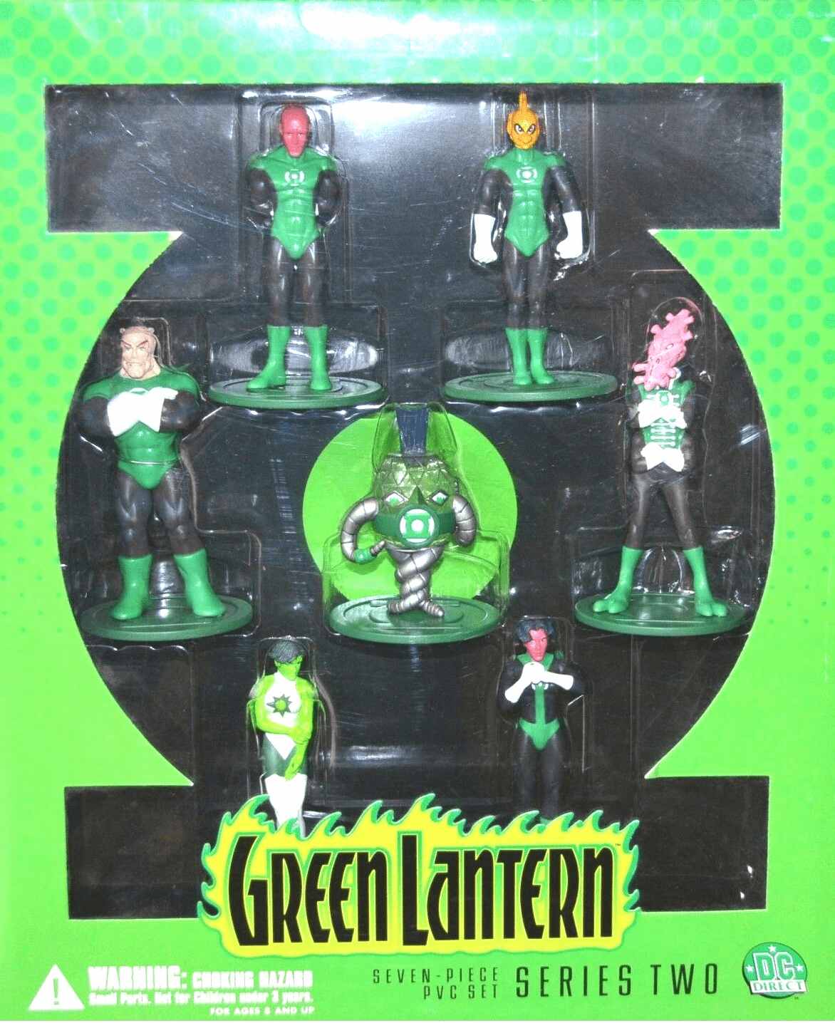 DC Direct Green Lantern Series 2 PVC Set