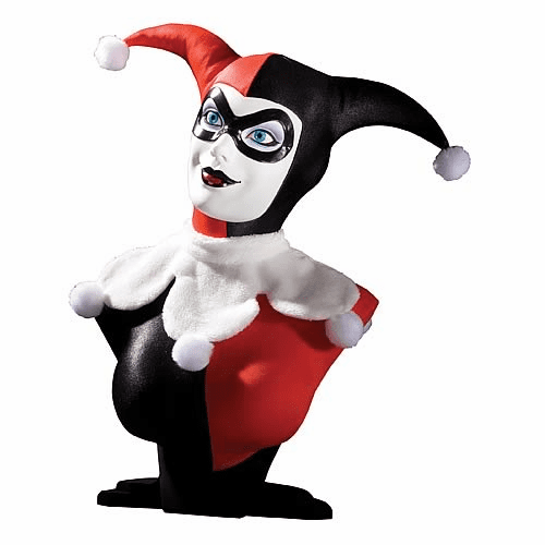 DC Direct Harley Quinn 1:2 Scale Cold-Cast Porcelain Bust