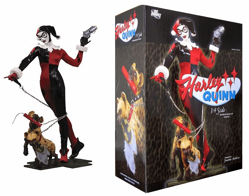 DC Direct Harley Quinn Quarter Scale Museum Statue