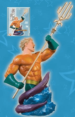 DC Direct Heroes of the DC Universe Aquaman Bust