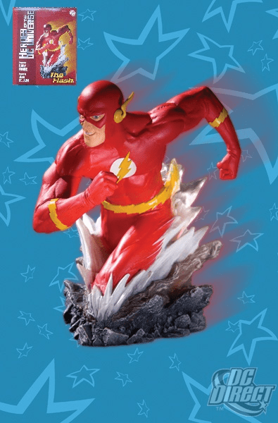 DC Direct Heroes of the DC Universe Flash Bust