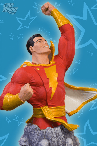 DC Direct Heroes of the DC Universe Shazam Bust