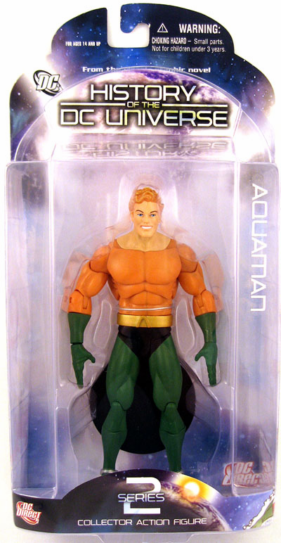 DC Direct History of the DC Universe Aquaman Figure