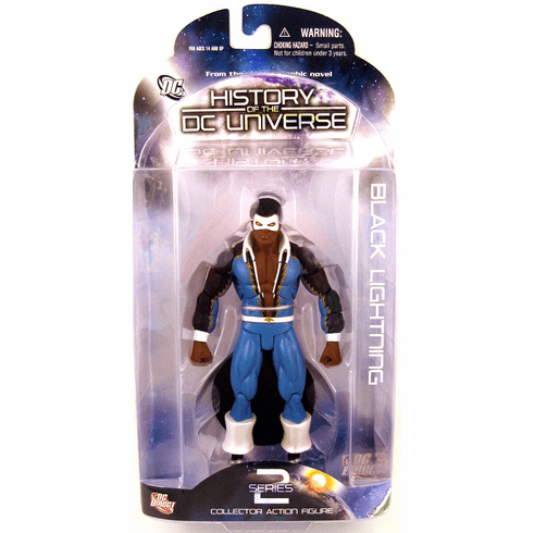 DC Direct History of the DC Universe Black Lightning Figure
