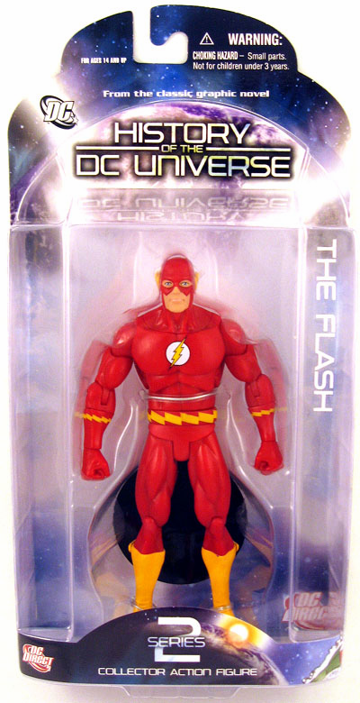 DC Direct History of the DC Universe The Flash Figure
