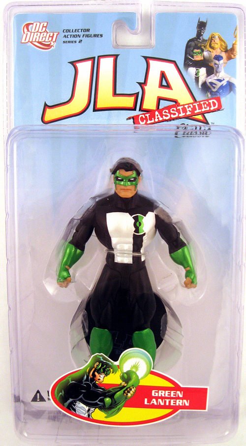DC Direct JLA Classified Classic Green Lantern Kyle Rayner Figure