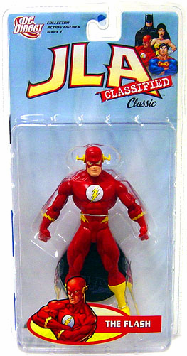 DC Direct JLA Classified Classic Series 1 Flash Action Figure