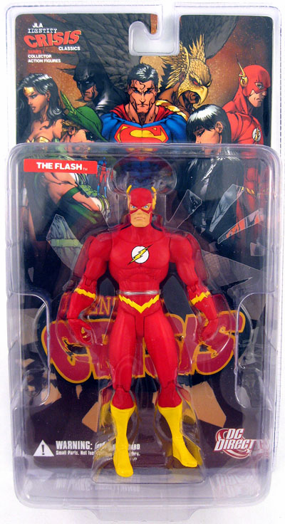 DC Direct JLA Identity Crisis Classics The Flash Figure