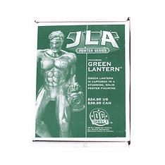 DC Direct JLA Pewter Series Green Lantern Statue