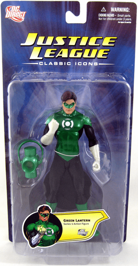 DC Direct Justice League Classic Icons Green Lantern Figure