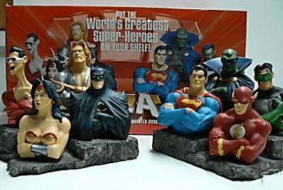 DC Direct Justice League of America Bookends