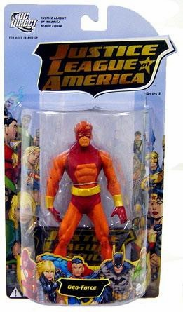 DC Direct Justice League of America Series 3 Geo-Force Figure