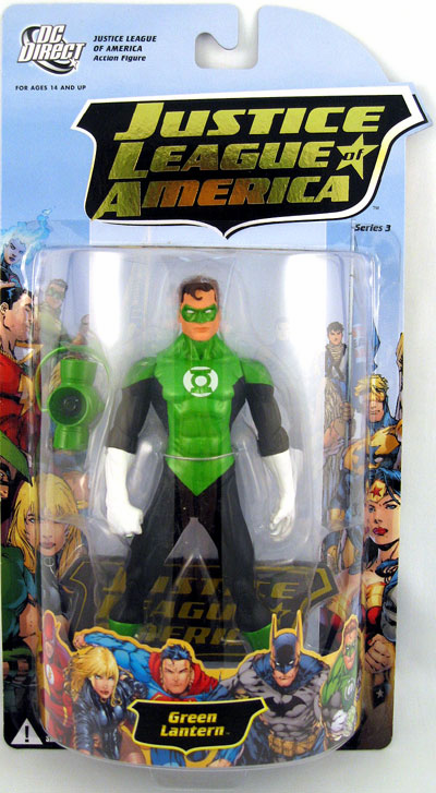 DC Direct Justice League of America Series 3 Green Lantern Figure